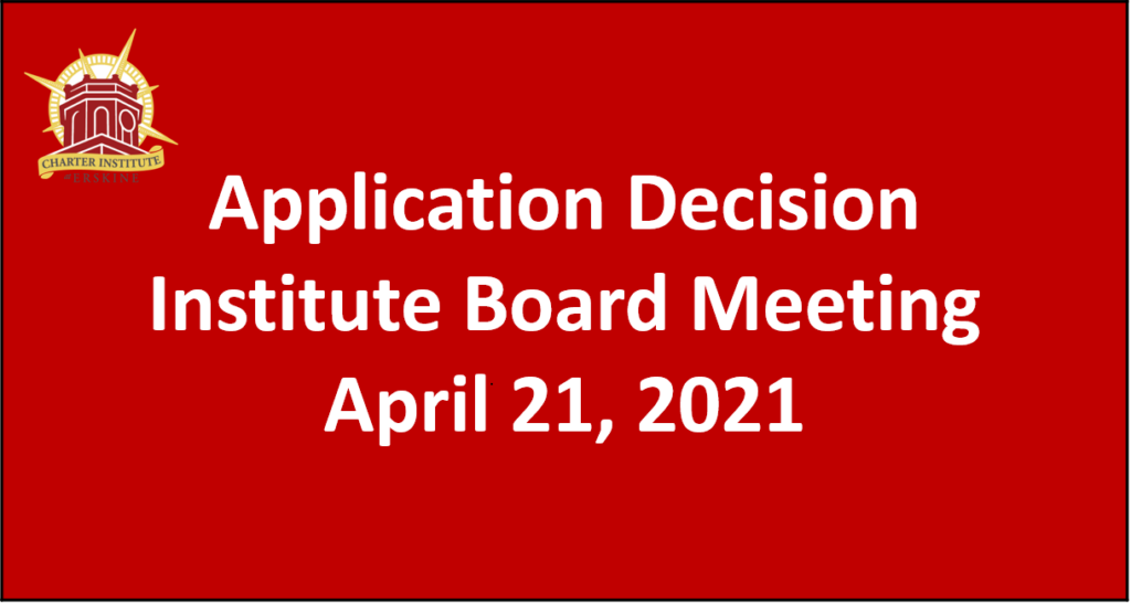 Application Decision Board Meeting