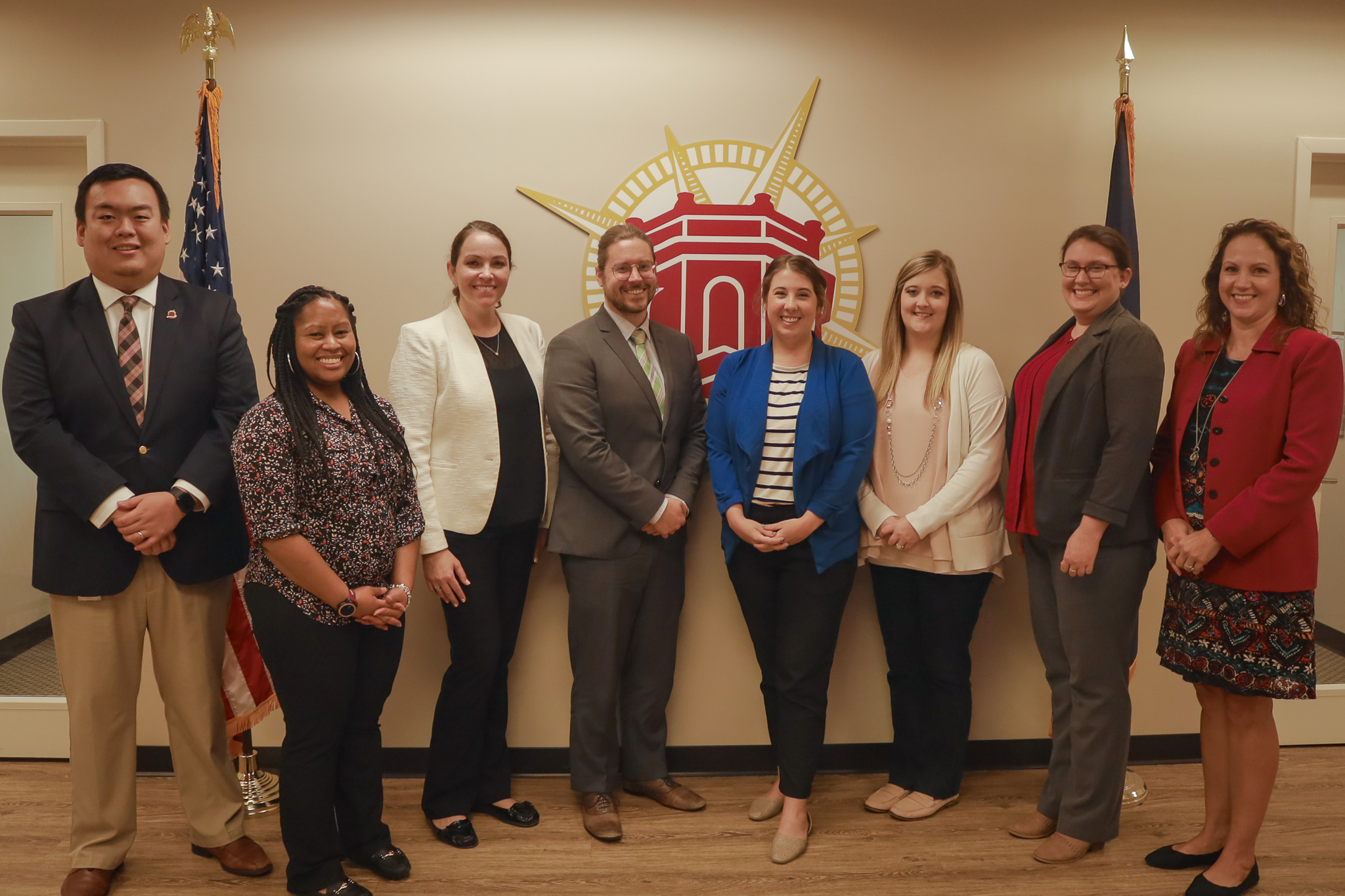 The Federal Programs and Finance departments learned a great deal from their visit with Brustein and Manasevit this week!